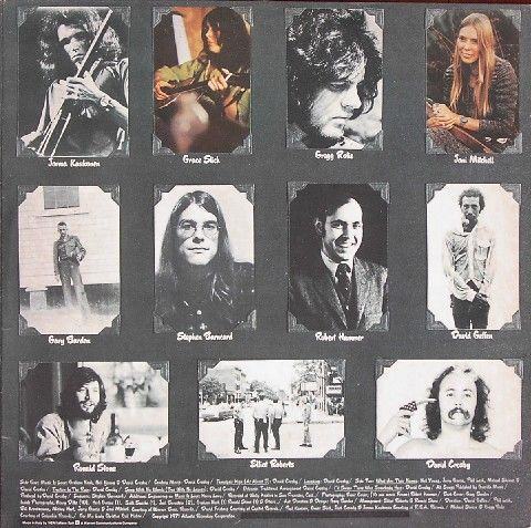 Original LP - Inner Cover