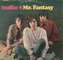 Traffic - Mr. Fantasy (USA) / Front cover